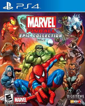 PS4 Marvel Pinball Epic Collection Vol 1 R1