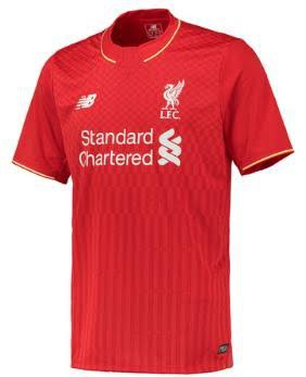 Liverpool Home Jersey 15-16