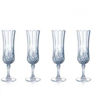 Cristal D'Arques Longchamp Flute Set of 4