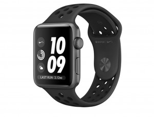 Apple Watch Nike+ Space Gray Aluminum Case with Anthracite/Black Nike Sport Band