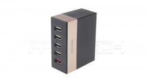 Remax 5 Ports USB Charger - Black