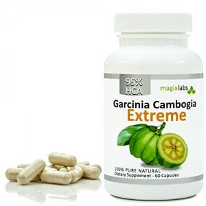 MagixLabs 95% HCA Garcinia Cambogia EXTREME. Highest Potency Any Where +1250mg per capsule