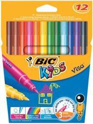 Bic Kids Visa Felt Tip Pens Washable Fine Tip Assorted