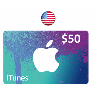 Apple iTunes Gift Card $50