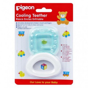 Pigeon Cooling Teether 4+ Months- Square