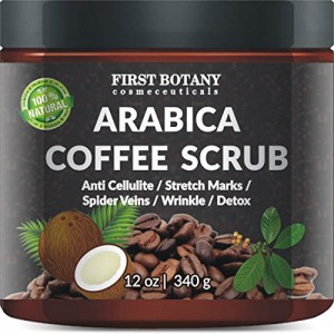 100% Natural Arabica Coffee Scrub 12 oz.