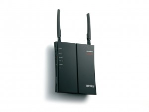 Buffalo WHR-HP-G300N AirStation High Power N300 Wireless Router