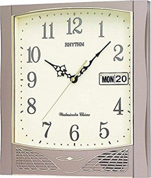 Rhythm Value Added West minister Chime And Strike Wall Clock - CFH104NR18