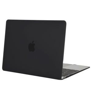 Mosiso Plastic Hard Case for Macbook 12 Inch with Retina Display Model A1534, Black