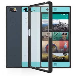 Orzly FUSION BUMPER CASE COVER SHELL FOR NEXTBIT ROBIN SMARTPHONE - PROTECTIVE HARD COVER