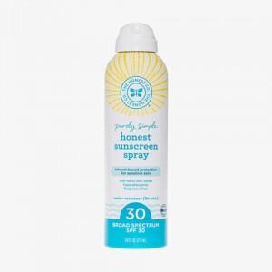 The Honest Company Purely Simple SPF 30 Sunscreen Spray - 6 Ounce
