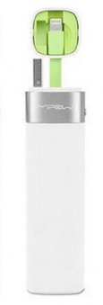 Mipow MFI - Smart Power tube 3000 - with lightning connector + JuiceSync App V2 (White)