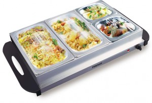 MAGNUM 4- LARGE TRAY FAMILY BUFFET FOOD WARMER
