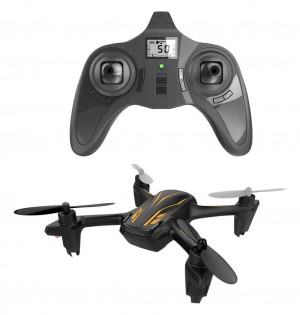 Hubsan H107P X4 Plus Quadcopter - Black