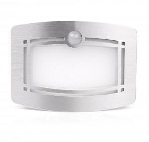 OxyLED T-03 Luxury Aluminum  Bright Motion Sensor LED Wall Sconce Night Light