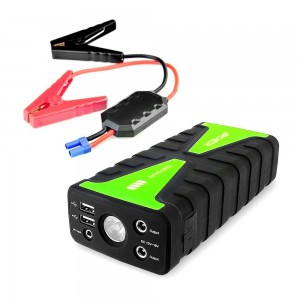 Archeer Car Jump Starter 16800mAh Portable External Battery Charger With LED flashlight and 2 USB Ports