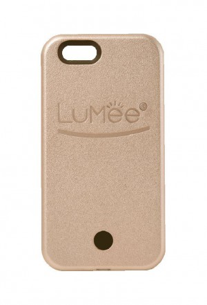 LuMee Illuminated Cell Phone Case for iPhone 6/6s - Retail Packaging - Rose Gold