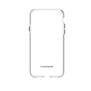 PureGear Slim Shell Case for iPhone X (Clear) - 62062PG