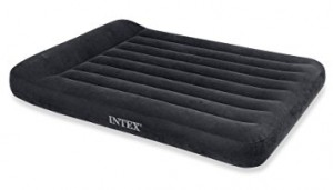 Intex Queen Pillow Rest Classic Airbed (W/220-240v Built-in Pump) - 66781
