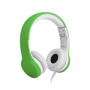 LilGadgets Premium Wired Headphones with SharePort for Children - Green