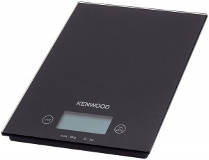 Kenwood High Capacity Add & Weight Electronic Scale 8kg Black DS400
