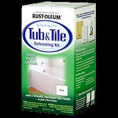 Rust - Oleum Tub & Tile refinishing kit