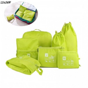 7 PCS Travel Bag Set
