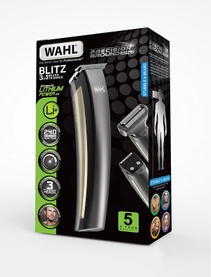 WAHL Lithium Ion Beard & Body, Trimmer+Shaver+Clipper - MT9884-027