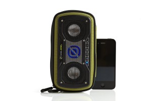 Goal Zero Rock Out 2 Solar Rechargeable,Bluetooth Speaker-Green