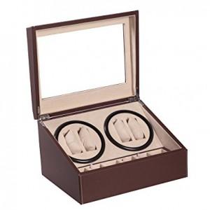 Watch Winder Automatic Rotation Storage Display jewellery box Case