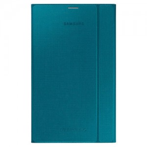 "New Original Samsung Galaxy Tab S Book Cover for 8.4"" (OEM) - Blue (Open Box )"