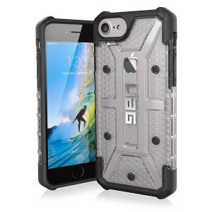 UAG Plasma Case For iPhone 7/6S (IPH7/6S-L-IC) – Ice / Black