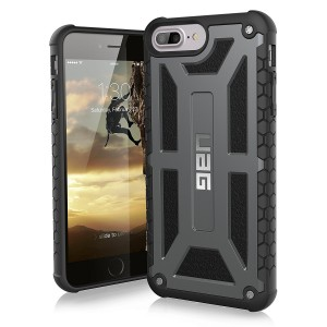 UAG  Monarch Case  for iPhone 7and 6S Plus-Graphite/Black