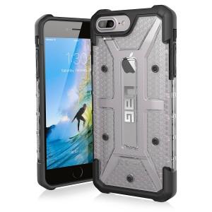 UAG Plasma Case for iPhone 7Plus and 6S Plus -Ice/Black