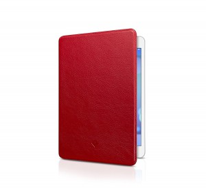 Twelve South 12-1326 SurfacePad Luxury Leather Cover for iPad Mini - Red