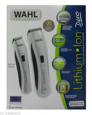 WAHL Lithium Ion Vario Clipper + Trimmer, Combo - HC1481-0466