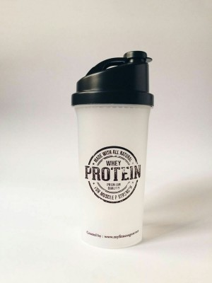 My Fitness Gear Protein Shaker Bottle 700 ml (Whey Protein)