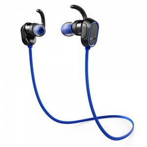 Anker SoundBuds Sport UN Black+Blue