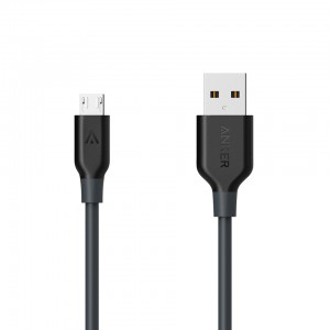 Anker Powerline+ Micro Cable (0.3m/1ft) -Gray