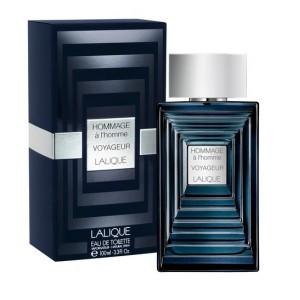 Lalique Hommage A l'homme Voyageur Eau De Toilette for Men 100ml