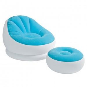 Intex Cafe Chaise Chair,  (Chair & Ottoman) - 68572