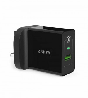 Anker PowerPort+ 1 with Quick Charge 3.0 and IQ, Black (ANK-A2013-BK)