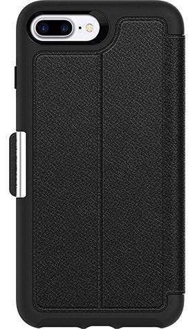 OtterBox Apple iPhone 7 Plus Strada Series Leather folio case - Onyx Black