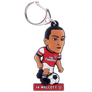 Arsenal F.C. PVC Walcott Key Chain