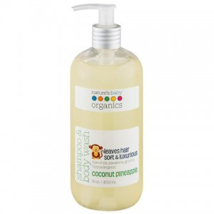 Natures Baby-Shampoo & Body Wash - Coconut / Pineapple 16 Oz