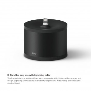 Elago D Stand Charging Station for Airpods - black