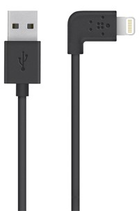 Belkin Mixit 90-degree Lightning To Usb Cable - F8J147bt04-BLK