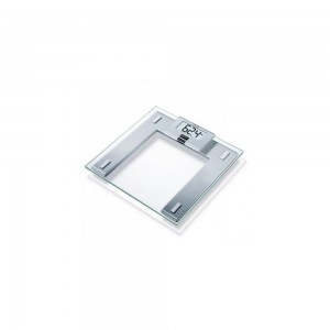 Beurer Glass Scale Removable Display GS 43