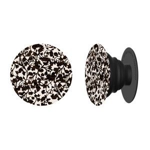 PopSockets Expanding Phone Stand -Floral Black