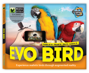 Arevo Augmented Reality 3D EVO Book: EVO Bird Book